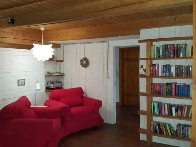 0728-04 Ferienhaus Traumschleife Wohnzimmer Bild 2