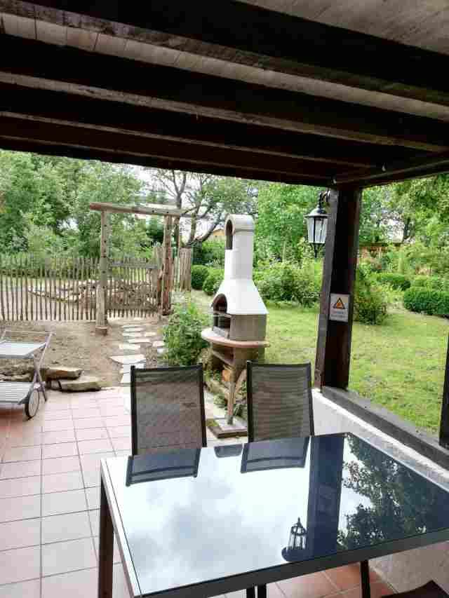0728-13 Ferienhaus Traumschleife Terrasse Bild 1