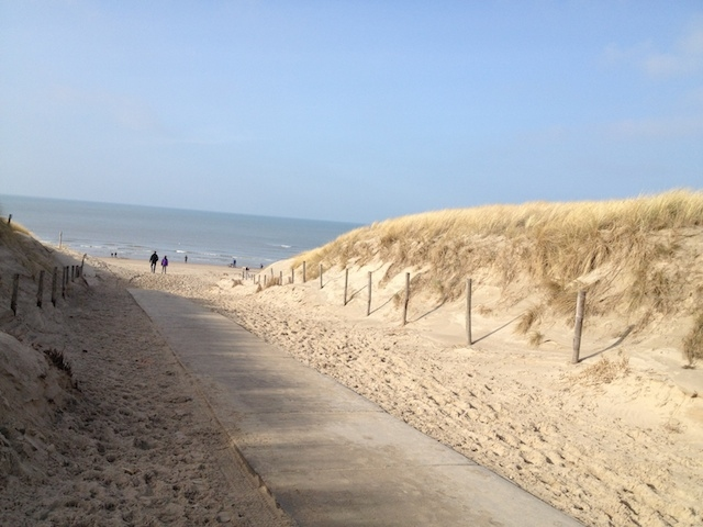 Ferienhaus Westwind Weg zum Strand