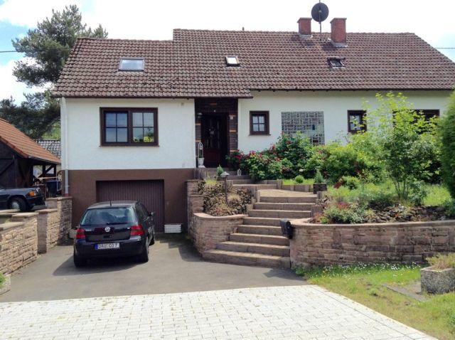0740-01 Ooser Tälchen Haus Sommer