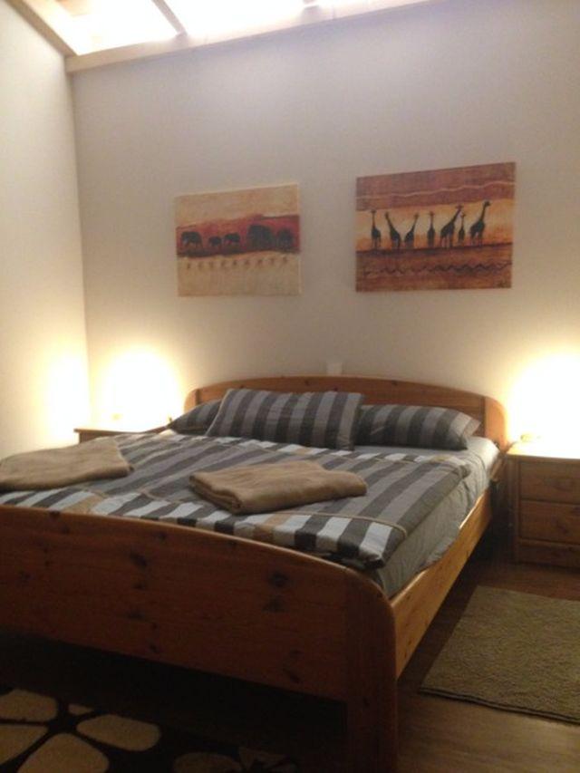 0740-19 Ooser Tälchen Bungalow Schlafzimmer 1