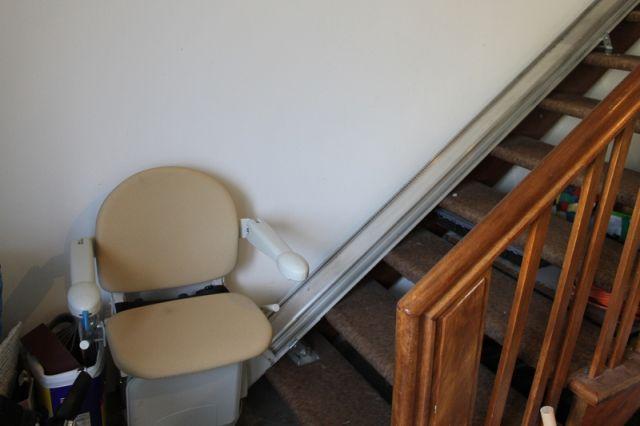 Treppenlift für alle Wohnungen