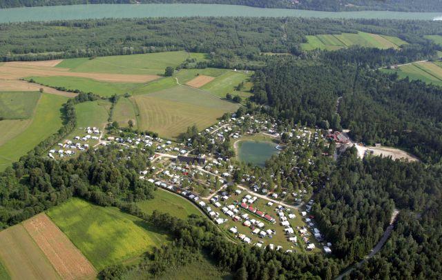 0743-01 Camping Rosental Roz Luftaufnahme
