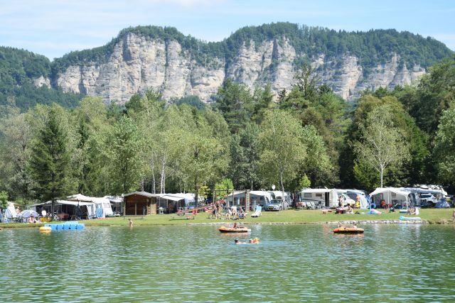 0743-03 Camping Rosental Roz See und Berge