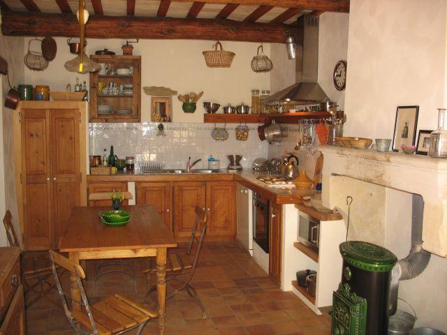 0761-13 La Closerie Küche