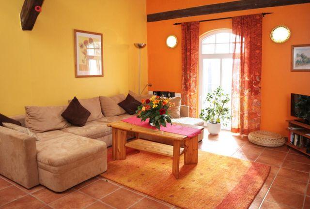0757-14 Ferien am Schloss FeWo 04 Wohnzimmer