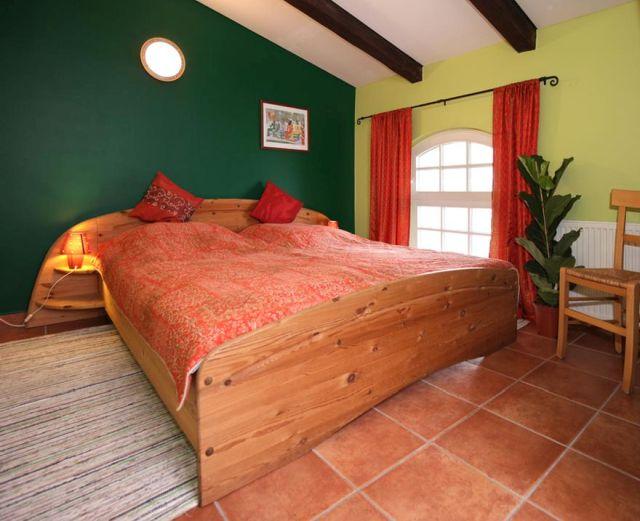 0757-16 Ferien am Schloss FeWo 04 Schlafzimmer 1