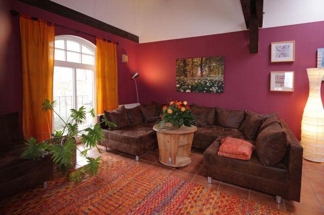0757-19 Ferien am Schloss FeWo 05 Wohnzimmer