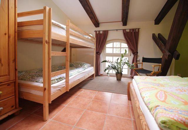 0757-23 Ferien am Schloss FeWo 05 Schlafzimmer 3