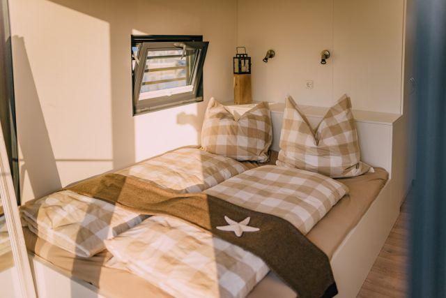 0775-08 Hausboote Goitzsche Schlafzimmer 2