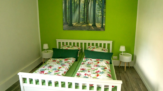 0785-11 Villa Familienglueck Schlafzimmer 3