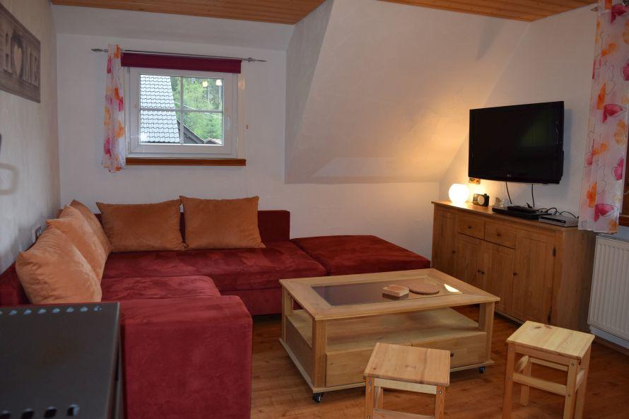 0796-07 Waldblick Wohnzimmer 2-3