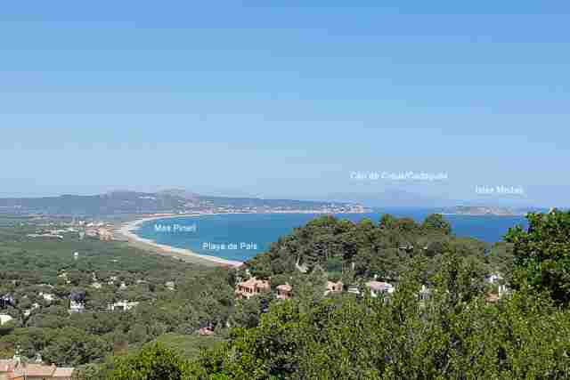 0797-15 Casa Dunes Casa Dunes Playa de Pals mit Mas Pinell