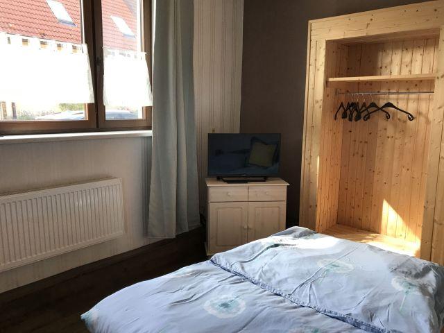 0837-09 FeHa Roggentin Kleine FeWo Schlafzimmer