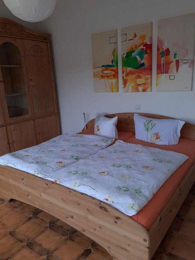 0865-17 Landhaus Schlossberg FeWo 05 Schlafzimmer